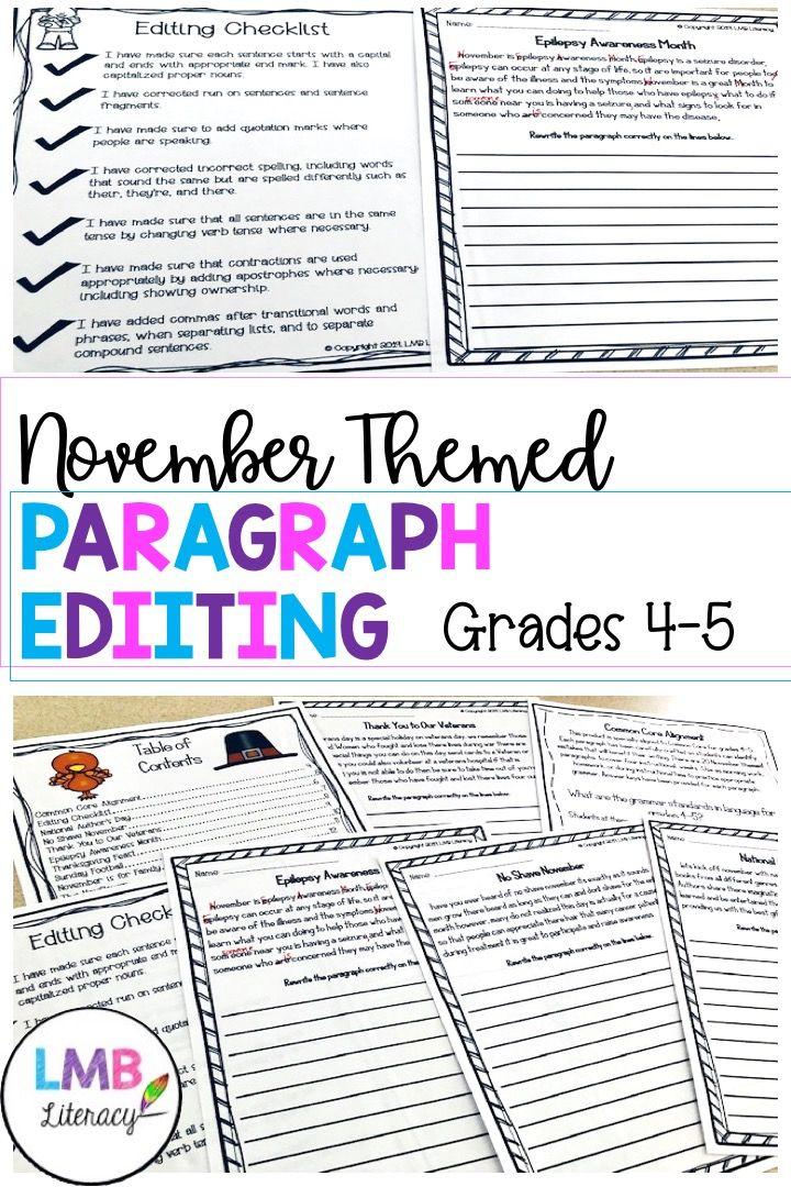 A Proofreading Paragraph Worksheet Super Teacher Worksheets Paragraph Worksheets Reading Comprehension Worksheets