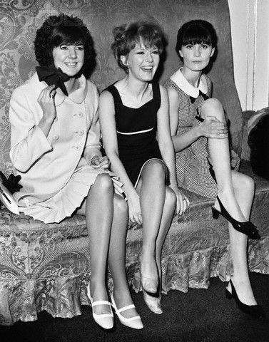 Cilla Black, Petula Clark and Sandie Shaw