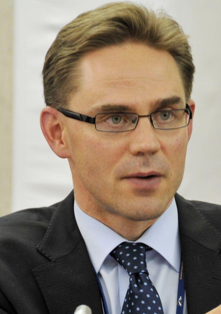 The pime minister of Finland, Jyrki Katainen.