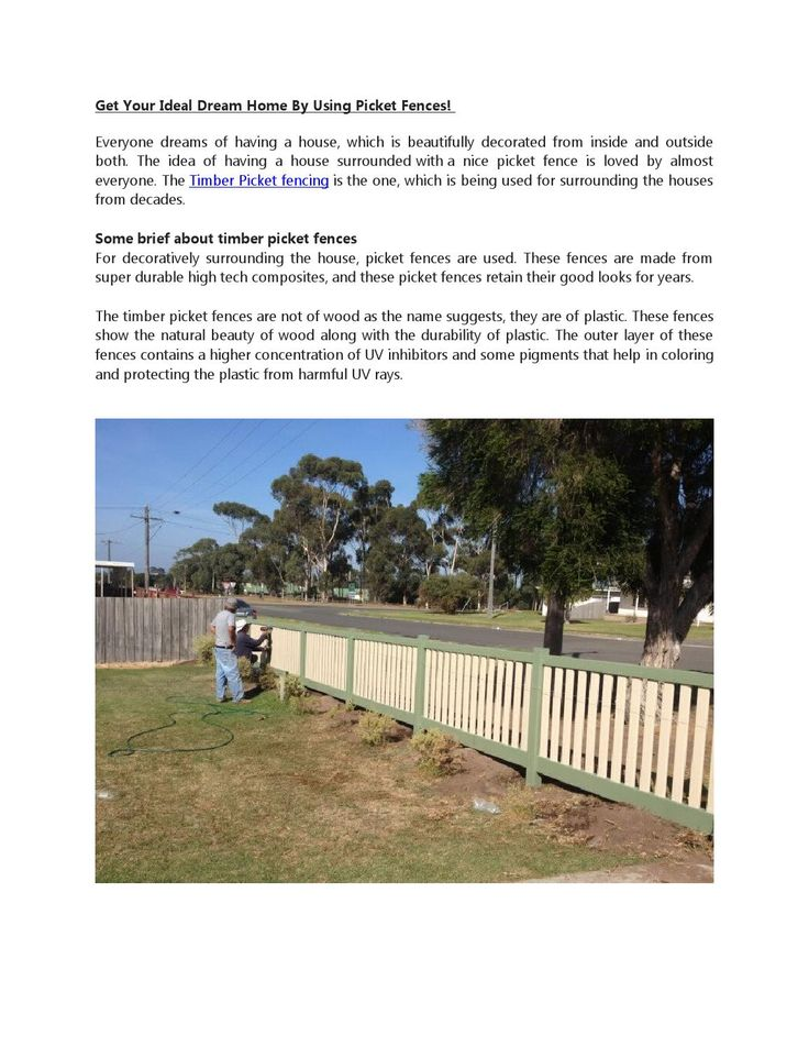 Get the best #timber#picketsfencing for your house. You can also use this fencing as#Farm #fencing; this fencing will #surround your farm also verynicely.