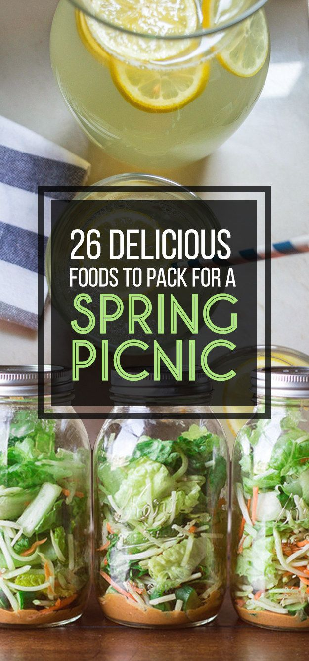 26 Delicious Foods To Pack For A Spring Picnic