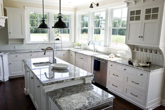 Image Result For Pics Of Kitchens With White Cabinets