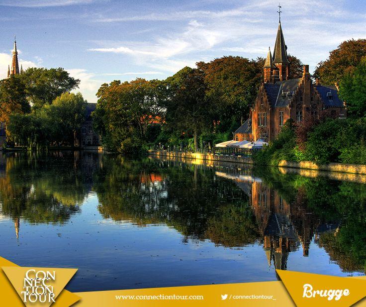 Haftanın yurt dışı seyahat önerisi; Orta Çağ'dan kalma mimarisi ve değişik çikolataları ile Belçika'nın en çok ziyaret edilen şehri Brugge! #travel #gezelimgörelim #travelgram  #bira #değişiktadlar #BatıFlandra #BelçikaBirası