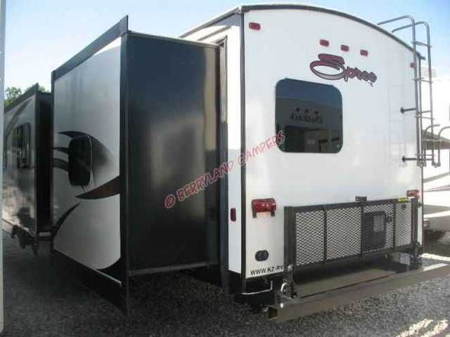 2016 New K-Z Inc Spree 329IK Travel Trailer in Louisiana LA.Recreational Vehicle, rv, 2016 K-Z Inc Spree 329IK, Due to manufacturers' policies we cannot advertise prices any lower than MSRP, call or email today for our LOWEST PRICE. Also ask about our nationwide delivery program and out-of-state discount. Berryland Campers is one of the largest RV dealers in the Gulf South. According to Statistical Surveys, we are the #1 dealer for travel trailers and 5th wheels in the Southeast and have…