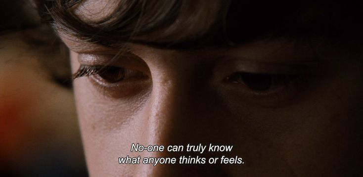 "anamorphosis-and-isolate:  ― Submarine (2010)""No-one can truly know what anyone thinks or feels."""