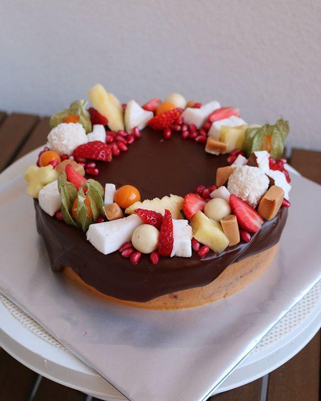 #caramel #baking #cake #sweetlife #fruits #coconut #hobby #homemade #birthdaycake