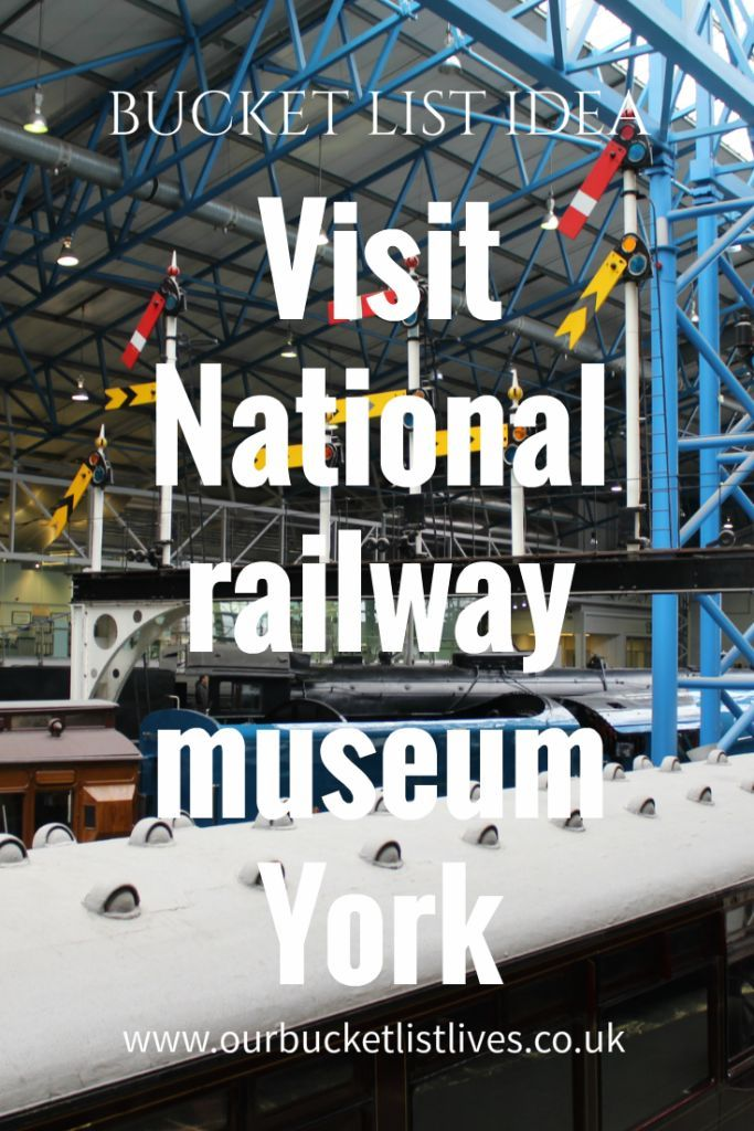 Bucket list idea, National railway museum, York, blog review. Bucket list family. Day out UK kids