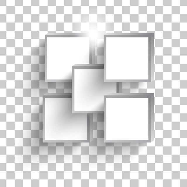 White Square Isometric Frames Isolated White Icons Square Icons Isometric Icons Png And Vector With Transparent Background For Free Download Isometric Background Design Vector White Square Frame