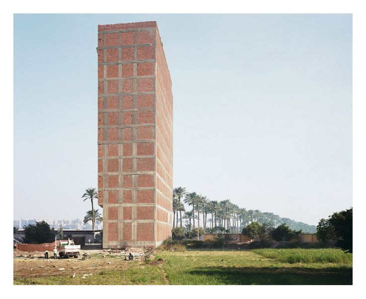 Former sugarcane field, Cairo, part of Refuge: Five Cities series, by Bas Princen, 2009