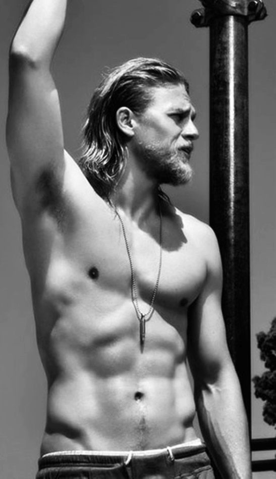 Charlie Hunnam I couldn't figure out what board to pin you in, then I realized this one would work!