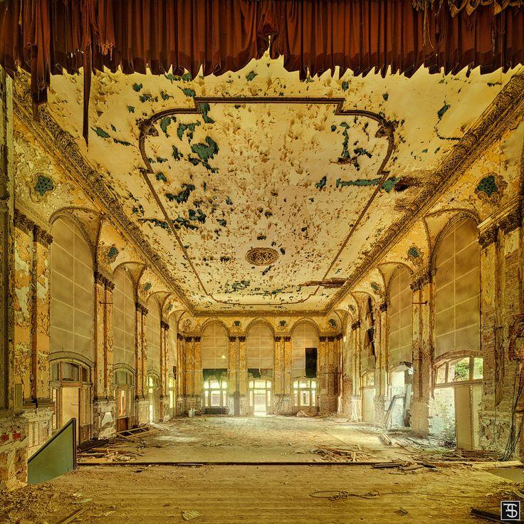 abandoned ballroom in germany