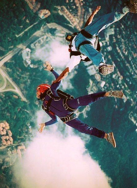 Sky Diving ?  If Yes -click Tried, and comment your experience. If No -what are you doing? Save this pin to your Bucket List!
