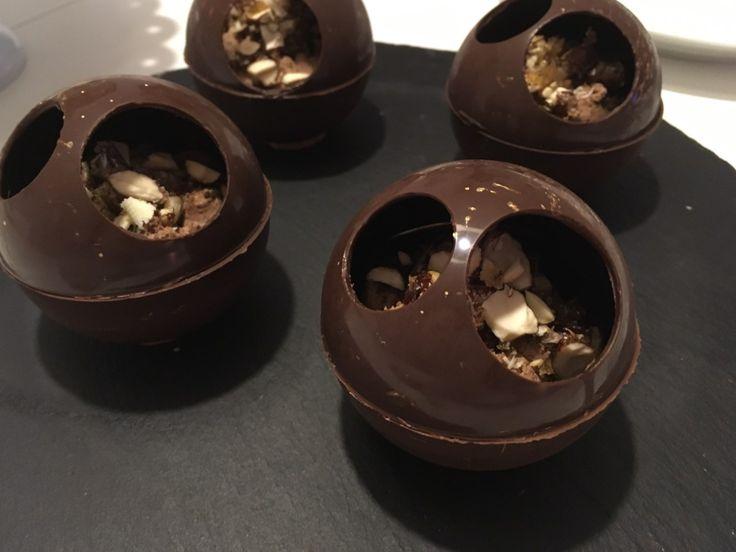 Chokoladekugler med Romtrøffel