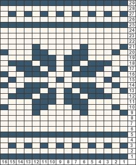 Tricksy Knitter Charts: Snowflake by AnthonyJB88