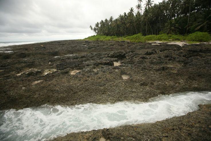 Pulau Asu. Indonesia