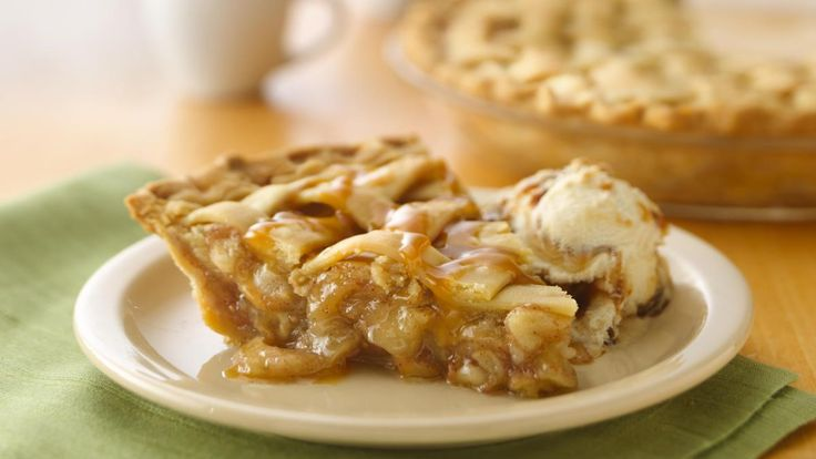 Caramel Apple Pie recipe and reviews - An easy caramel apple pie recipe made in just 3 steps. Wow guests with this apple caramel pie recipe uses refrigerated pie crust, pecans and caramel sauce.