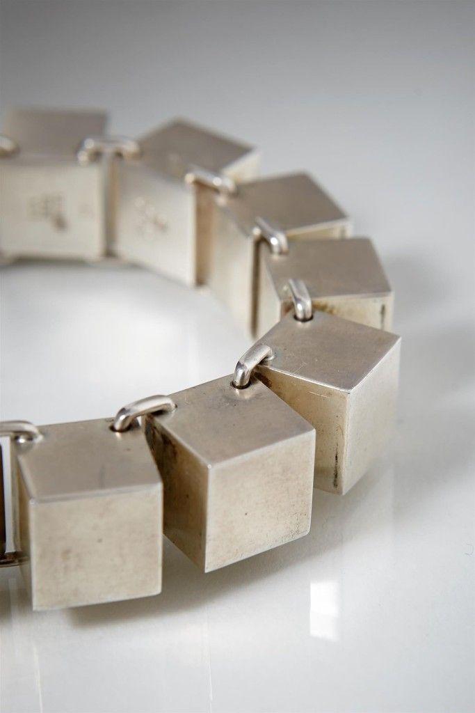 Bracelet by Hans Hansen, Denmark. 1960's. Minimal   Modernist   60s   scandinavian   danish