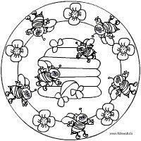 Bienenstock-Mandala