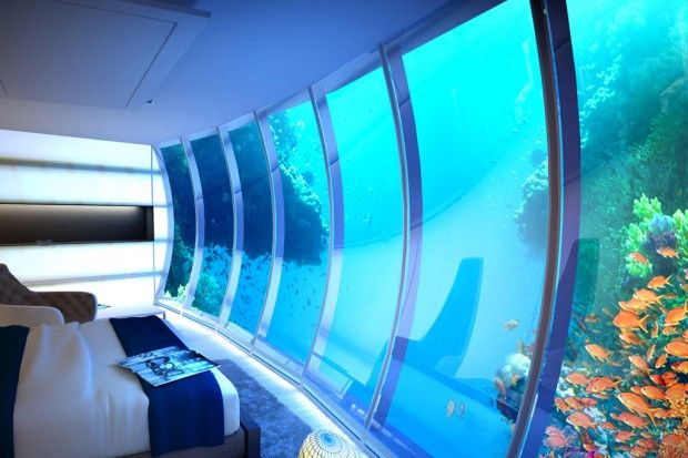 Dubai Underwater by Drydocks World and Deep Ocean Technology #Hotel #tourism