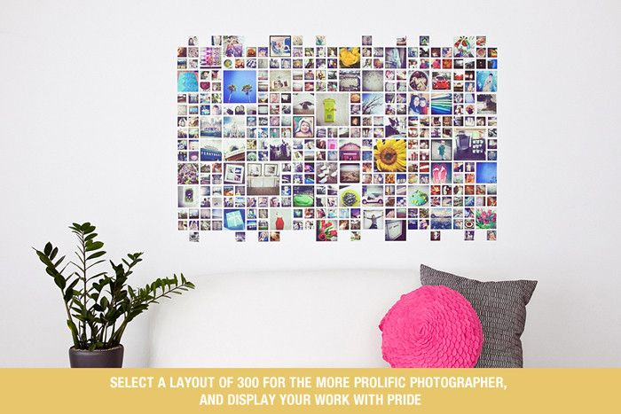 Instagram Collage Template for Photoshop & InDesign | Design Aglow