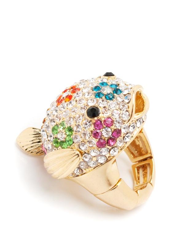 So cute!Blowfish Rings