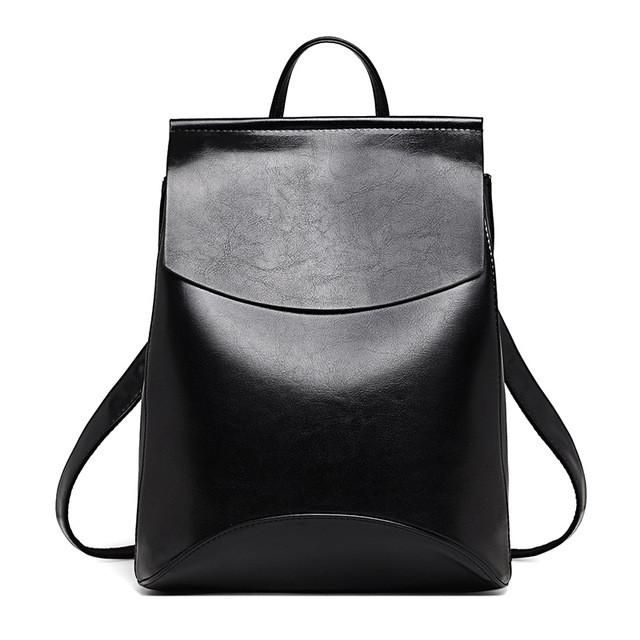 Black Shoulder Backpack