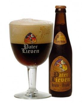 Pater Lieven Bruin - a chocolate dark beer, with a very soft and malty taste. Produced by Brouwerij Van den Bossche - Belgium.