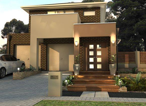 Seisuke Display Homes: Summit 235 - Trend Facade. Visit www.localbuilders.com.au/display_homes_adelaide.htm for all display homes in Adelaide