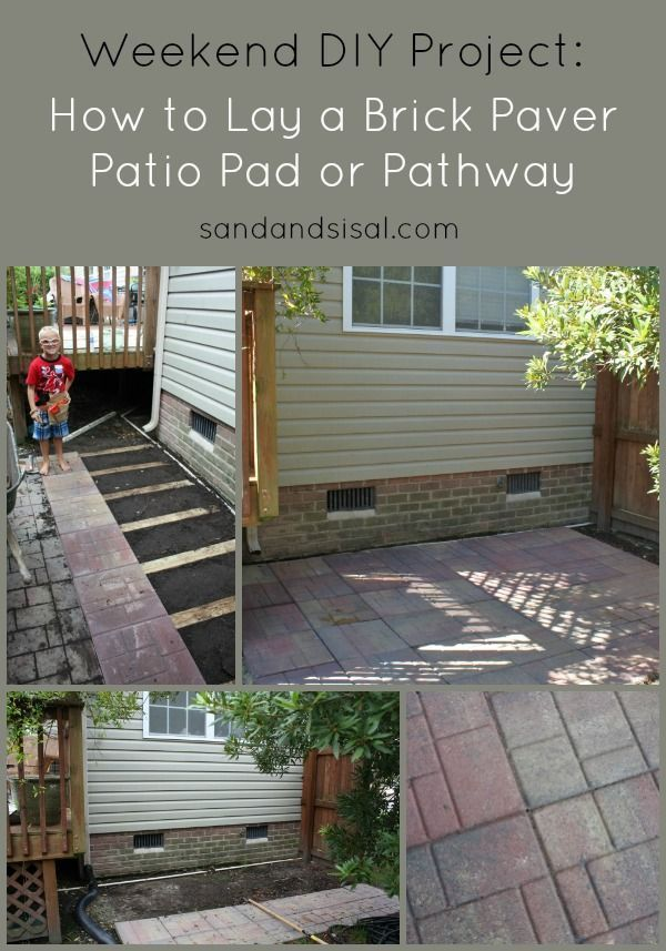 Best 25+ How To Lay Pavers Ideas On Pinterest | Laying Pavers, Backyard  Pavers And How To Lay Brick
