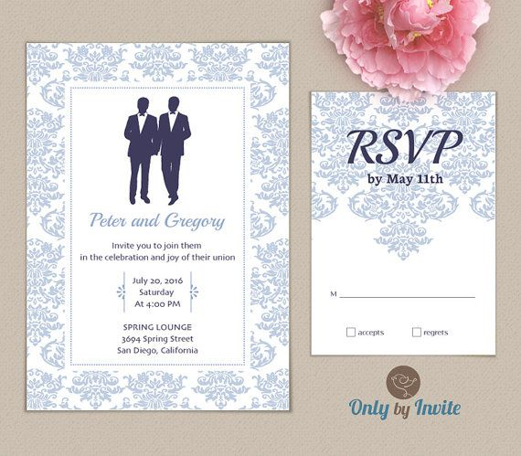 Best lesbian wedding invitations