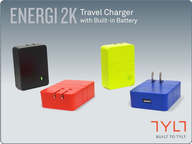 Worlds Most Affordable Wall Charger with Battery by TYLT by Kannyn MacRae — Kickstarter