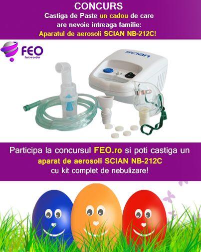 Concurs nebulizator SCIAN NB212C