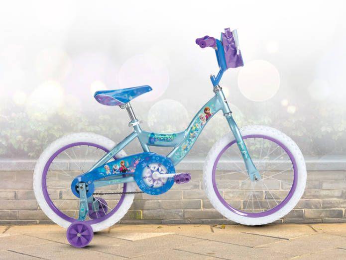 Huffy 18 Bike Disney Frozen Anna Elsa Girls Bicycle Training Wheels Outdoor Toy