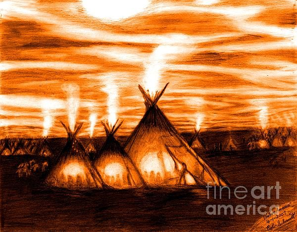 Chief Black Kettle Coloring Pages