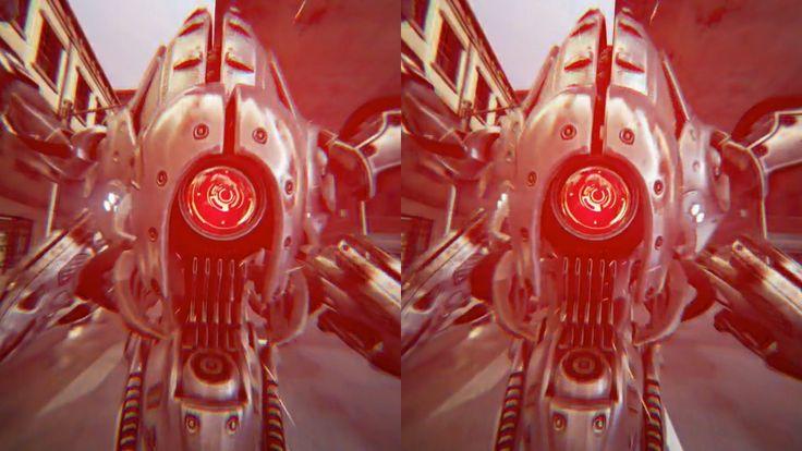 Google Cardboard - Showdown demo + Oculus Rift Dk 2 (Light,shadow,tweak)