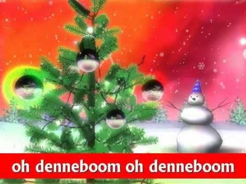 """♪ Kerstliedje: """"Oh denneboom"""" met tekst!"""