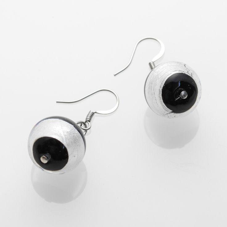 Laguna Earrings - Venetian Murano Glass Jewellery for Australia - www.italianheart.com.au