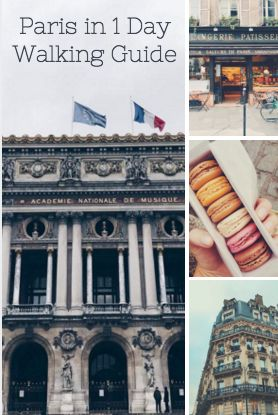 "The guide features my ""Paris in One Day"" walking tour (which I highly recommend for travelers who don't have a lot of time in the city), and also a list of some of my other favorite spots in Paris (restaurants, shops, etc.)"