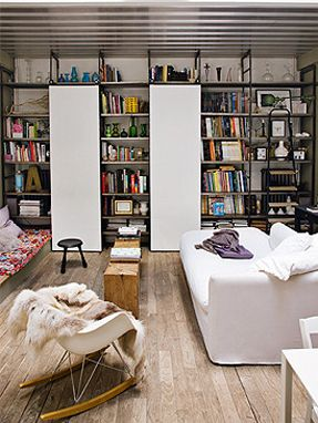 Un mini-loft à Paris - La déco Turbulente