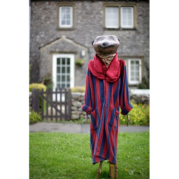 Kettlewell Scarecrow Festival, Yorkshire Dales. UK