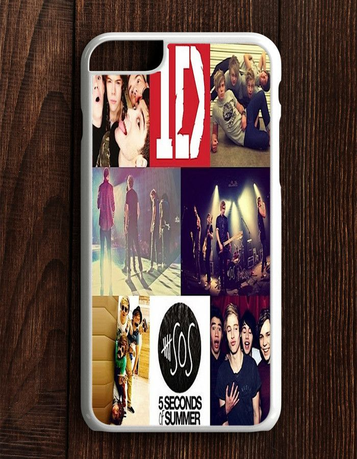 5 Second Of Summer One Direction Collage Art iPhone 6 Plus | 6S Plus Case