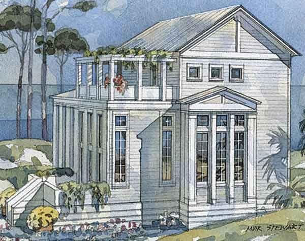91 best Coastal House Plans images on Pinterest Beach house