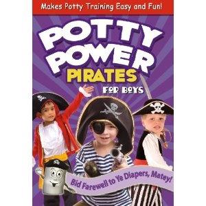 Potty Power Pirates Video. Boy specific potty training video! SO CUTE!