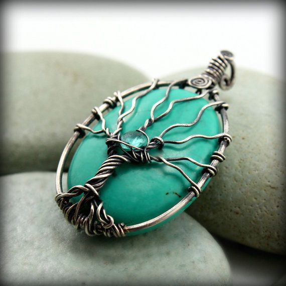 515 best Wire Wrapped Cabochons images on Pinterest   Wire wrapped ...
