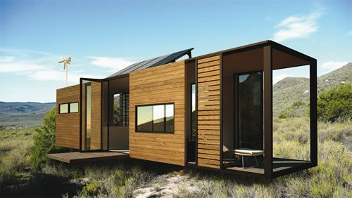 The Eco_mobile is a 40 foot container size steel frame manufactured in its entirety off site. Clad with wooden panels and timber flooring, t...