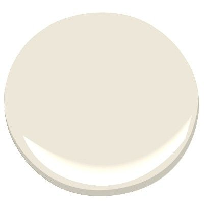 Benjamin Moore White Down: cozy white with the lightest gray undertone.