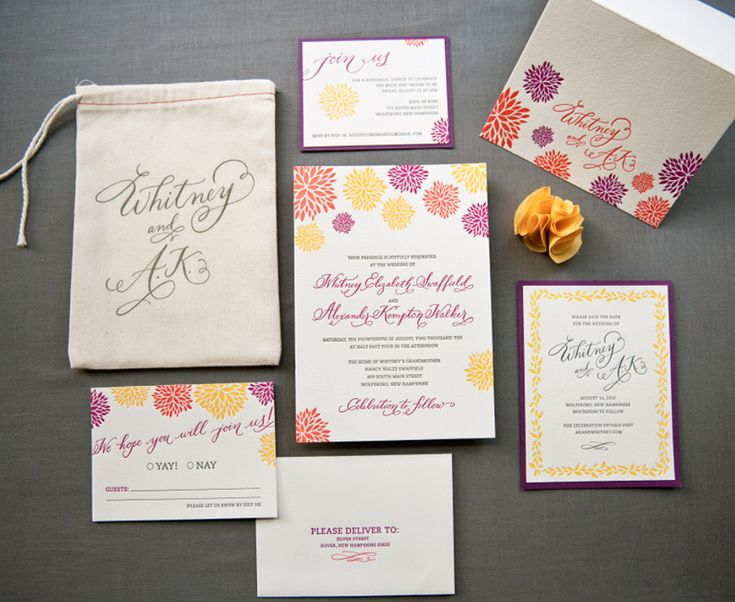 16 best Daring Wedding Invitations images on Pinterest Luxury