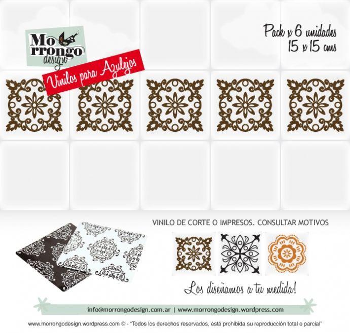 Vinilos para azulejos decor tu ba o o tu cocina r pido for Vinilos para azulejos