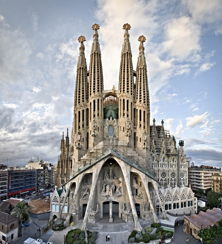 Barcelona, Spain - Seeing a picture of La Sagrada Familia in my high school Spanish text book drew me in.  There is just something about the history, the culture, and the spirit of Barcelona that has always called to me.