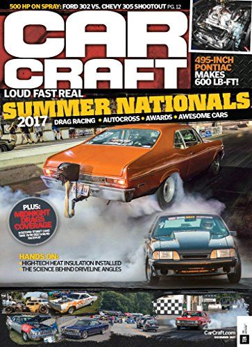 Car Craft - Read by auto enthusiasts interested in modifying, restoring and improving the performance of their musclecars and street machines. Each issue features car, new-car tests and practical how-to articles on all aspects of performance modifications...from bolt-ons to complete engine rebuilding.